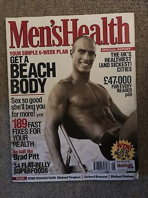 MEN'S HEALTH MAGAZINE - June 2004 • 2£