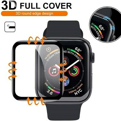 $ CDN4.14 • Buy For Apple Watch IWatch Series 2 3 4 5 6 SE 38/40/42/44mm Glass Screen Protector