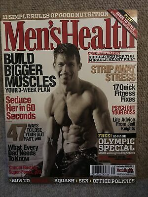 MENS HEALTH MAGAZINE - September 2004 • 2£