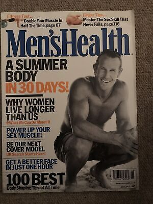 Mens Health June 2002 • 2£