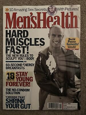 Mens Health October 2002 • 2£