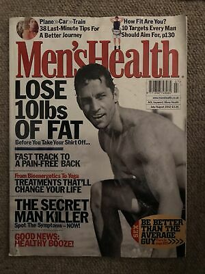 Mens Health July/august 2002 • 2£