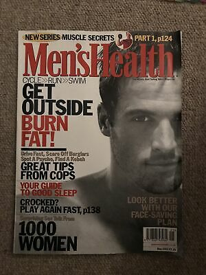 Mens Health Magazine May 2002 • 2£