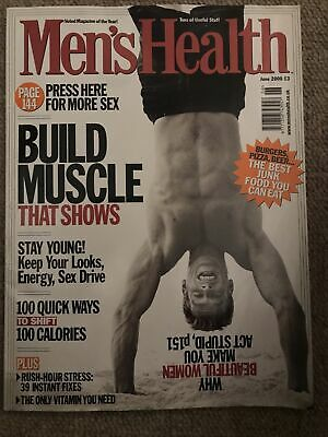 Mens Health June 2000 • 2£