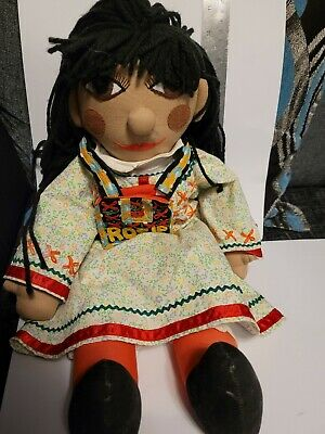 Rag Doll Rosie From (Rosie And Jim ) TV CHARACTER VGC • 14.99£