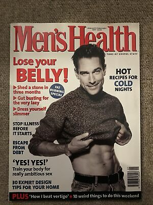 Mens Health Magazine January/february 1997 • 2£