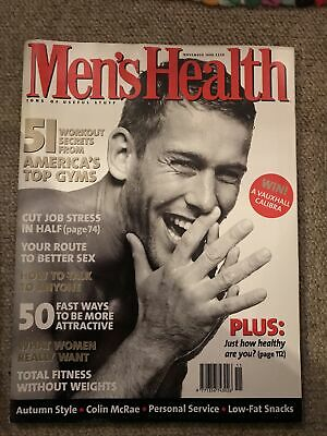 Mens Health Magazine November 1996 • 2£