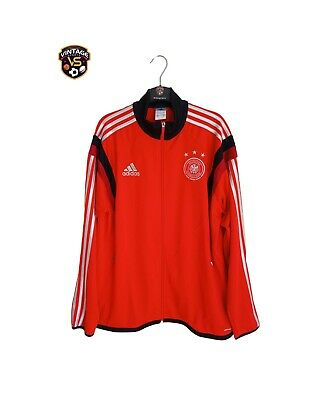 PERFECT Germany Football Track Top Jacket 2014 (L) Adidas Deutschland Jacke • 34.99£