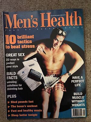 Mens Health August September 1995 • 2£