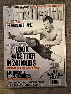 Mens Health Magazine March 2001 • 2£