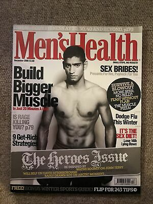 MEN'S HEALTH MAGAZINE - December 2006 • 2£