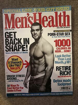 Mens Health Magszine Jan/feb 2007 • 2£