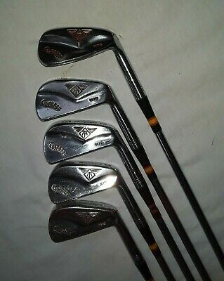 $59.99 • Buy RARE MacGregor Golf COLOKROM TOURNEY MT M75 Copper Face IronS 3-6, & 8 RH, Steel