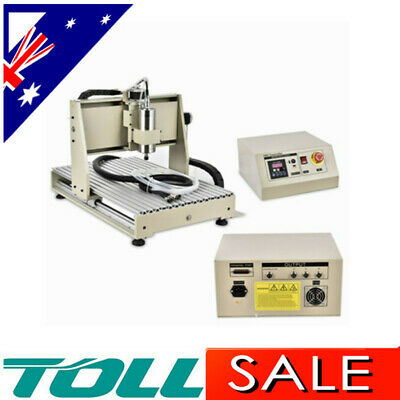 AU1225.01 • Buy 3 Axis CNC Engraving Machine 6040 Carving Drilling Milling Router Engraver 1500W