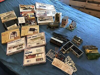 $ CDN66.93 • Buy HO Scale Building Lot Of 20 Train Buildings For Layout **No Reserve**