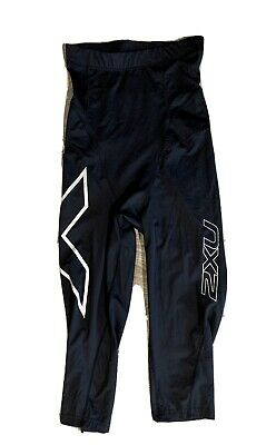 AU20.50 • Buy 2XU Women's FITNESS HI-RISE COMPRESSION 7/8 TIGHTS Size Large