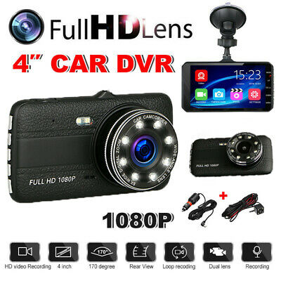 AU36.59 • Buy 4  1080P FHD Car Dash Cam Front & Rear Camera DVR Recorder 170° View Angle Tool