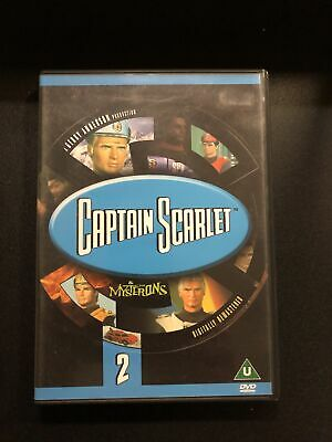 Captain Scarlet 2 DVD Classic Cult Kids TV Series • 2.60£