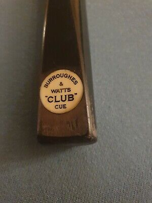 Burroughes And Watts Snooker Cue • 29£
