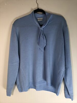 """£23 • Buy Cotswold Collection Pure Merino Wool Jumper UK XL  Blue Jumper  NEW Ptp  23"""""""