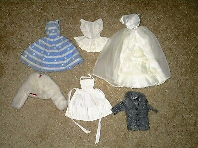 $ CDN13.95 • Buy Vintage Barbie Clothing Lot - Early 1960s, 6 Items, GUD Condition