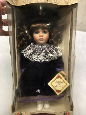 $ CDN16.58 • Buy Collector's Choice Limited Edition Genuine Fine Bisque Porcelain Doll With COA