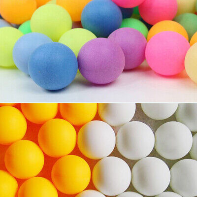 AU17.99 • Buy 100Pcs Colored Ping Pong Balls Entertainment Table Tennis Mixed Colors For Game