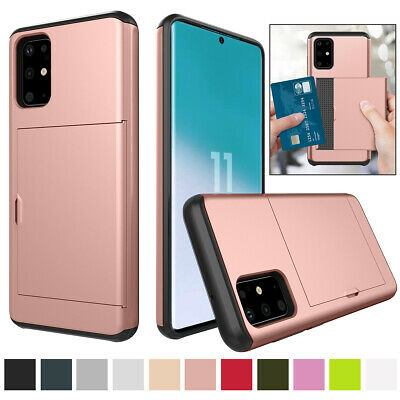 AU10.73 • Buy For Samsung Galaxy S6 S7 S8 S9 S10 S20 Shockproof Wallet Card Holder Case Cover