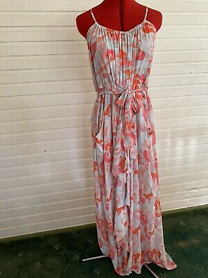 AU32.95 • Buy Sheike Floral Maxi Dress Size 14