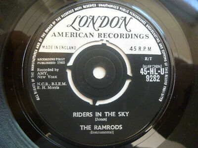 The Ramrods - Riders In The Sky • 1.15£