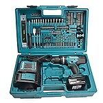 MAKITA DHP453Z COMBI DRILL 1 X 3AH 1X DC18SD 101 PIECE BIT SET • 153.50£