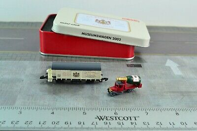 AU51.79 • Buy Marklin Museum Wagon 2002 Car + Delivery Truck Z Scale