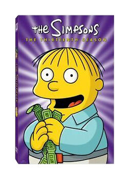 The Simpsons - Series 13 - Complete (DVD, 2010, 4-Disc Set) • 2.20£