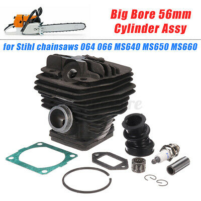 AU45.57 • Buy Big Bore Cylinder Piston Kits For Stihl Chainsaws 064 066 MS640 MS650 MS660