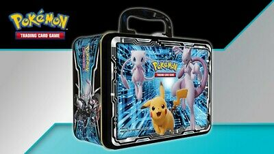 Pokemon TCG Collector's Chest 2019 (Fall) Pikachu Mew Mewtwo Cards Tin SEALED • 189.99£