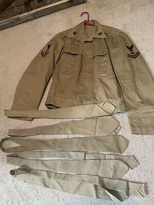 $100 • Buy WW2 USMC Corpman Jacket Plus Extras