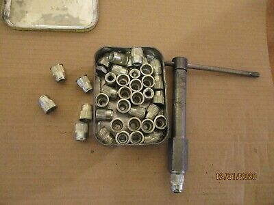 Steel Nut Inserts Clinch Nut  Thread Size 8mm Approx @ 36, And A Tool That Looks • 5£