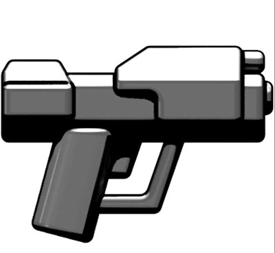 $1 • Buy Brickarms Space MAGNUM PISTOL For Mini-figures -Spartans Space Marines -NEW