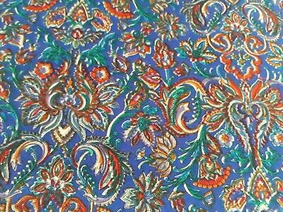 Vintage Viyella Liberty Varuna Wool Fabric-SHIRVAN- • 24.99£
