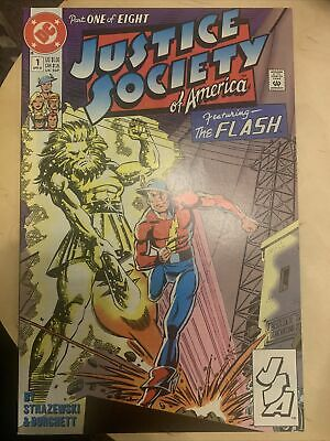 Justice Society Of America Annual #1 DC Comics - April 1991 - Near Mint • 1.20£