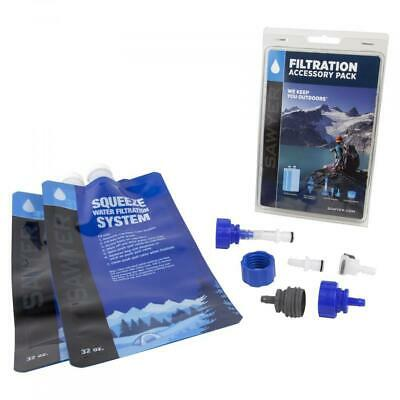 AU59.95 • Buy Sawyer Filtration Accessory Pack To Suit Sawyer Squeeze