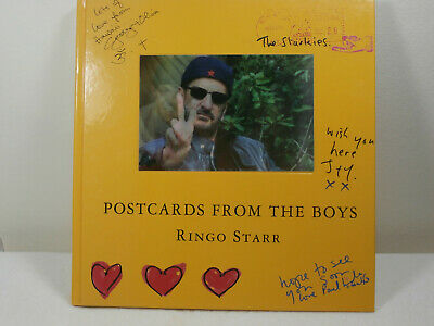 Beatles Ringo Starr Hardback  Postcards From The Boys  !Free Shipping! • 8£