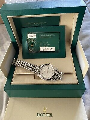 Rolex Datejust 41mm Steel And White Gold  • 10,499£