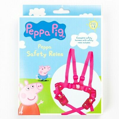 £8.49 • Buy Peppa Pig - Peppa Travel Safety Reins, Childrens Character Adjustable Straps
