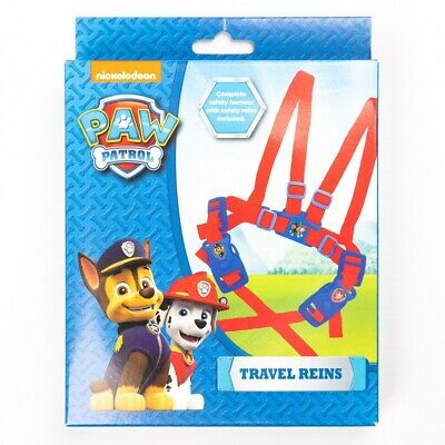 £8.49 • Buy Paw Patrol Marshall & Chase Travel Reins, Childrens Character Adjustable Safety