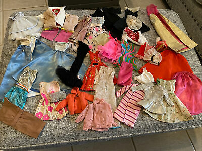 $ CDN86.48 • Buy Vintage Barbie Doll CLOTHING LOT Of 35 Pieces -1960's Tagged TLC