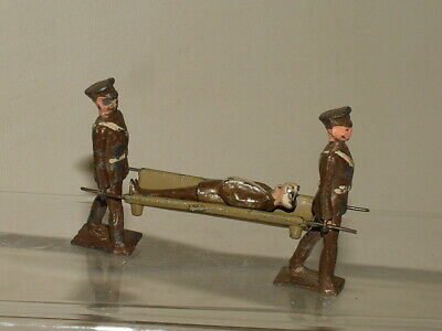 Johillco Vintage Military Soldiers Civilian Stretcher Bearers + Wounded Cr45 • 5£