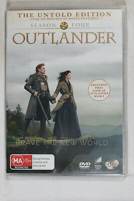 AU19.99 • Buy Outlander Season Four 5 Discs DVD - R 2 4 5 Like New (D720)