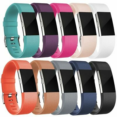 $ CDN4.61 • Buy For Fitbit CHARGE 2 Replacement Silicone Watch Band Strap Wrist Bracelet&Charger