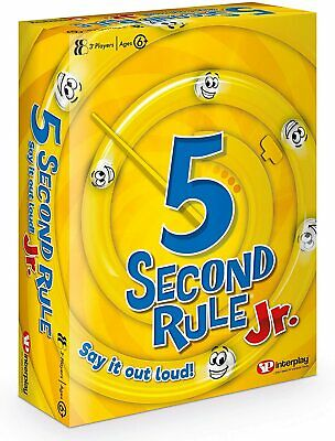 AU25.36 • Buy 5 Second Rule Junior, Card Game GF002